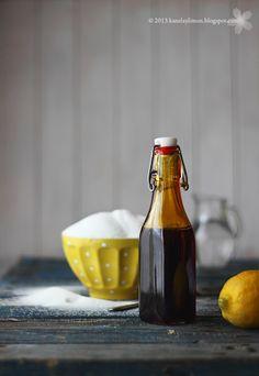 Caramelo líquido de Kanela y Limón. Para hacer sunday de caramelo, flan o lo que sea; y sin conservantes ni cosas raras de esas.
