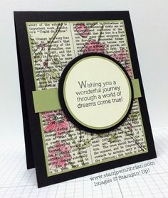 Bloom with Hope, World of Dreams, Stampin' Up!, Brian King, PPA215