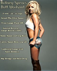 Britney Spears Butt Workout #butt-workout #fitness #britney-spears