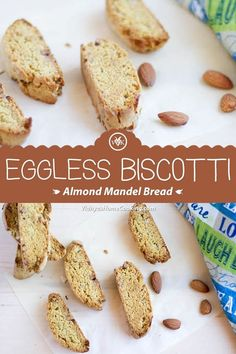The Rise Of Private Label Brands In The Retail Meals Current Market A Popular Jewish Biscotti Prepared With Almonds. This Double Baked Bread Loaf Is Popularly Known As Mandel Bread Or Mandelbrot. Via Srividhyam Amazing Vegetarian Recipes, Delicious Vegan Recipes, Delicious Desserts, Vegan Desserts, Muffin Recipes, Cookie Recipes, Dessert Recipes, Bread Recipes, Fast Recipes