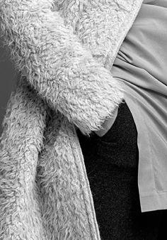 Soft alpaca coat | Stills Atelier