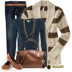 """Style this Cardigan Contest 2"" by kginger on Polyvore"