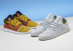453e966ebe43  sneakers  news Stadium Goods Offers Detailed Look At Upcoming Pharrell x  adidas Tennis Hu