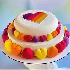"Barry Yummy's Instagram photo: ""What do you like this yummy idea? 🤔👍 ⠀ ⠀ Stay with 👉👉@BARRYYUMMYDESSERTS to joy amazing desserts🍩🍰😋 ⠀ ⠀ Credits by @natalia_lukashova ⠀ ⠀…"" Fun Desserts, Amazing Cakes, Birthday Cake, Joy, Instagram, Birthday Cakes, Glee, Being Happy, Cake Birthday"