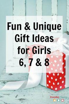Fun & Unique Gift Ideas for Girls 6 7 & 8