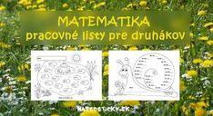 Matematika - pracovné listy pre druhákov z matematiky na vytlačenie. Printable Worksheets, Printables, Decorative Boxes, Education, Books, Montessori, Internet, Livros, Libros