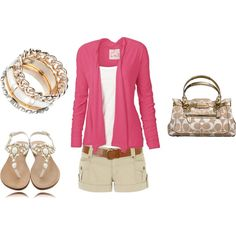 blushing summer, created by shauna-rogers.polyvore.com