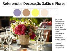 Ideias de Flores - tipo e decor (só troca os tons...que tem que seguir os do casamento)