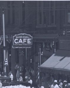 Skogmo Cafe - 1937 ~ My Mom worked here until we moved to IL in 1964.
