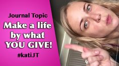 Make a life by what you give! Journal Topics, Care About You, How To Get, Health, Life, Health Care, Salud