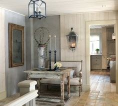 Get inspired with kitchen ideas and photos for your home refresh or remodel. Wayfair offers thousands of design ideas for every room in every style. Vibeke Design, Column Design, Swedish Design, Swedish Decor, Swedish Style, Interior Decorating, Interior Design, Rustic Elegance, Rustic Charm