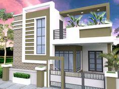 House Arch Design, House Outer Design, 3 Storey House Design, Single Floor House Design, House Outside Design, Village House Design, Bungalow House Design, Small House Design, Cool House Designs