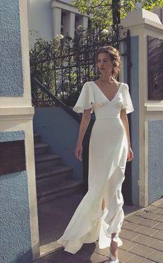 Elegant Dresses, Pretty Dresses, Beautiful Dresses, Vintage Dresses, Elegant Wedding Dress, Stylish Dresses, Best Wedding Dresses, Wedding Gowns, Prom Dresses