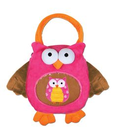 Take a look at this Owl Blankie Buddy & Tote on zulily today!