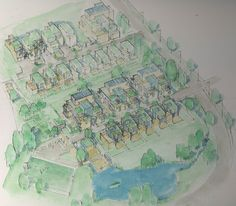 Houses (Energy/Eco) Hokksund Norway Project