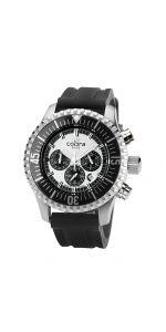 Ανδρικό Ρολόι Χρονογράφος Divers COBRA με λουρί σιλικόνης Breitling, Watches For Men, Accessories, Men's Watches, Jewelry Accessories