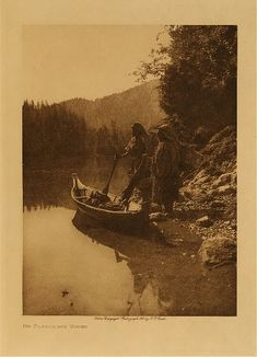 Nootka villagers on Clayoquot Sound.  Seattle : E.S. Curtis, 1916