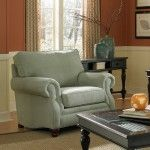 Montgomery Traditional Rolled Arm Chair with Rolled Arms by Broyhill Furniture - Becker Furniture World - Upholstered Chair Twin Cities, Minneapolis, St. Chair And Ottoman, Upholstered Chairs, Armchair, Broyhill Furniture, Family Room, Home And Family, Accent Furniture, Recliner, Accent Chairs
