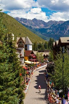 Vail, CO...perfect summer clime for outdoor sport and leisure...wonderful inns, restaurants and shops!