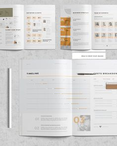 Startup Pitch Proposal Pack on Behance