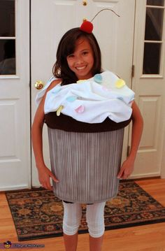Sweet Cupcake - homemade Halloween costume