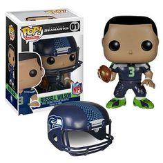 NFL Pop! Vinyl Figure Russell Wilson [Seattle Seahawks]