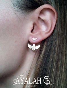 Hey, I found this really awesome Etsy listing at https://www.etsy.com/listing/235540427/bird-shape-ear-jackets-unique-and