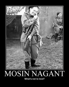 Mosin Nagant m91/30. Just bought one....