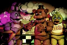 Five nights at Freddy's the creepyest game and at same time he horror game whit the most beauty story where 5 kids killed and stuffed in to the animatronics... But this its only the start....