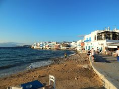 >little venice in mykonos<