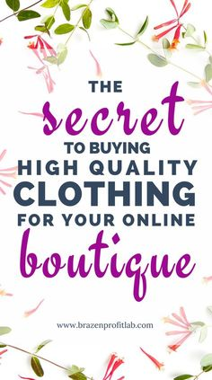 The fact of the matter is, finding a source of high quality clothing for your online boutique can be in a real challenge. That's why in this post I share 6 of my top tips and tricks for finding the best vendors in the least amount of time.
