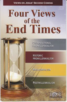 """Views On Jesus' Second Coming.There are many prophecies in the Bible about the end times and the events that lead up to it. These are the four major interpretations that Christians have held over the past 2000 years.Received mine through our Church """"Word Shoppe"""" Book and Gift store. [VH] From Rose Publishing."""