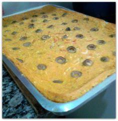 Bolo de legumes: Receita fácil e rápida, para agradar as visitas ou turbinar seu almoço / lanche -  http://jeitosaudavel.wordpress.com/2014/02/28/bolo-de-legumes/