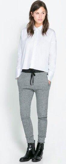 Jogger pants - zara