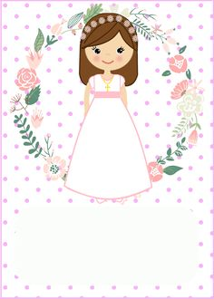 primera comunión f&f plus size dresses - Plus Size First Communion Decorations, Baptism Cookies, Communion Invitations, Ideas Para Fiestas, First Holy Communion, Holidays And Events, Christening, Art Projects, Diy And Crafts