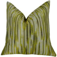 Plutus Pinceaux Handmade Throw Pillow, Multicolor