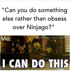 Truth. And the LEGO obsession gets worse as I just watched The LEGO Movie