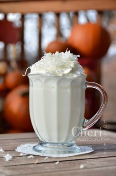 Coconut Cream Pie hot drink