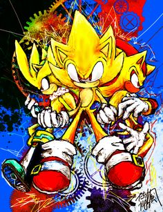 Super Sonic, Super Shadow and Super Silver