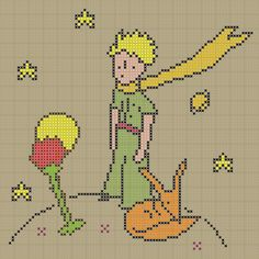 The Little Prince pattern by F.P. Molina