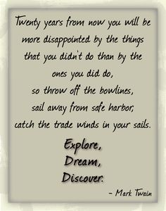 inspirational quote by Mark Twain