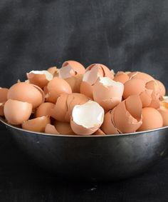 Amend your soil with eggshells at www.NourishandNestle.com