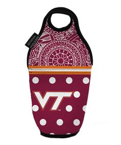 Take a look at this virginia tech drink insulator by the memory
