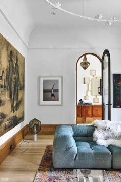 Vind je boogdeuren mooi? Klik hier en raak geïnspireerd van de mooiste inspiratie voorbeelden, van een enkele boogdeur, tot een deuropening met een boog tot prachtige dubbele boogdeuren! #livingroomdecoration