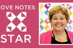 Love Notes Star Quilt