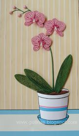 Gulnas' Kunstblog: Orchidee. Quilling