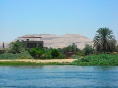 Valley of Kings, seen from the Nile - Luxor, Luxor