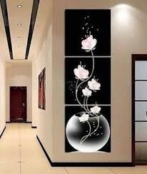 [Visit to Buy] 3 Pieces/set Modern Wall Art Buddha Printed Canvas Printed Pictures Wall Pictures for Living Room Prints Poster Unframed Office Wall Decor, Home Wall Decor, Diy Wall Art, Room Decor, Framed Canvas Prints, Canvas Frame, Wall Art Prints, Canvas Art, Framed Art