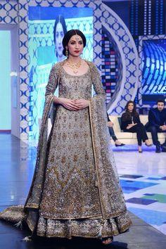 One of the most stunning dress Pakistani designer Nickie Nina
