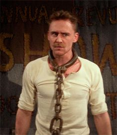 Tom Hiddleston as The Great Escapo In The Muppets Most Wanted